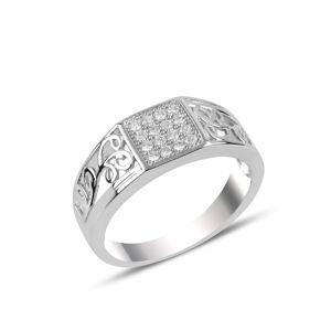 OLIVIE Pánský stříbrný prsten 3723 Velikost prstenů: 11 (EU: 65-67) Ag 925; ≤>5 g.