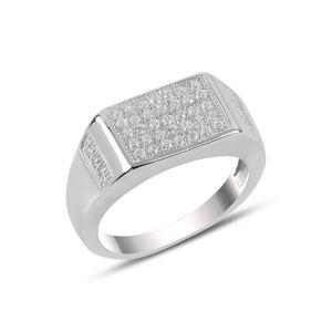 OLIVIE Pánský stříbrný prsten 3730 Velikost prstenů: 10 (EU: 62-64) Ag 925; ≤ 6,9 g.